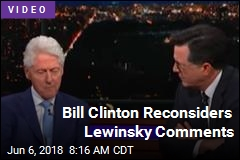 Bill Clinton Reconsiders Lewinsky Comments