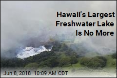 Hawaii's Largest Freshwater Lake Is No More