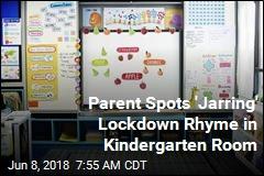 Kindergarten's Rhyming Lockdown Poster Shocks
