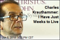 Krauthammer: 'I Leave This Life With No Regrets'
