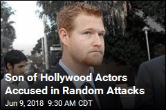 Son of Hollywood Actors Charged With Attack Spree