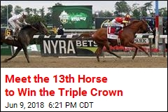 Meet the 13th Horse to Win the Triple Crown
