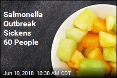 Salmonella Outbreak Sickens 60 People