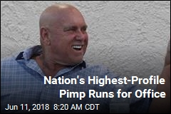 Nation's Highest-Profile Pimp Runs for Office