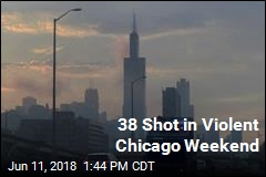 38 Shot in Violent Chicago Weekend