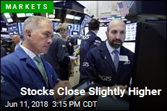 Stocks Close Slightly Higher