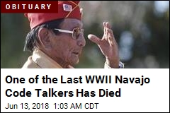 WWII Navajo Code Talker Samuel Holiday Dead at 94