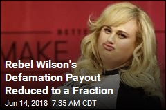 Rebel Wilson's Defamation Payout Reduced to a Fraction