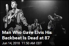Elvis Presley Drummer's Is Dead at 87