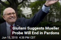 Giuliani: Mueller Inquiry Might End With Pardons