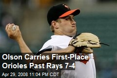 Olson Carries First-Place Orioles Past Rays 7-4