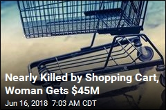 Woman Gets $45M Over Youths' Shopping Cart Attack