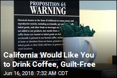 California May Formally Clear Coffee of Cancer-Risk Stigma
