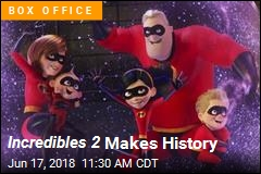 Incredibles 2 Makes History