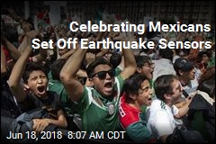 Celebrating Mexicans Set Off Earthquake Sensors