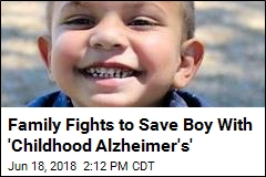 Family Fights to Save Boy With 'Childhood Alzheimer's'