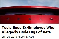Tesla Slaps Ex-Employee With Suit Over Alleged Data Theft