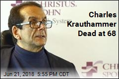 Conservative Icon Charles Krauthammer Dead at 68