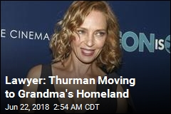 Lawyer Says Uma Thurman Is Moving to Sweden