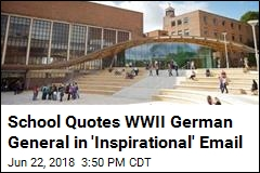Students Receive Email With 'Inspirational' Nazi Quote