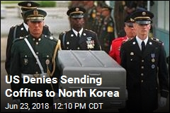 US Moves 100 Coffins to Inter-Korean Border