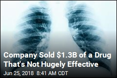 Company Sold $1.3B of a Drug That's Not Hugely Effective