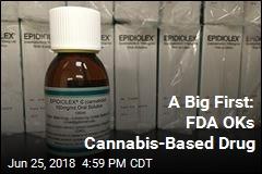 A Big First: FDA OKs Cannabis-Based Drug
