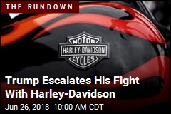 Trump Warns Harley-Davidson About Moving Work Overseas