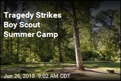 Boy Scout Killed by Falling Tree