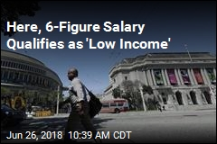 Here, 6-Figure Salary Qualifies as 'Low Income'