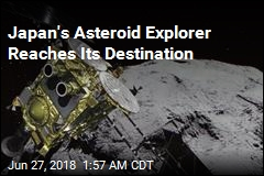 Japan's Asteroid Explorer Reaches Its Destination