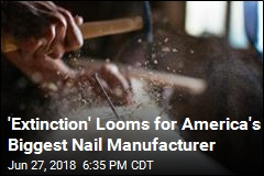 Largest US Nail Manufacturer 'On Brink of Extinction'