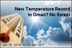 New Temperature Record in Oman? No Sweat