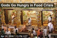 Gods Go Hungry in Food Crisis
