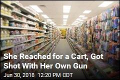 Woman Drops Her Gun at Walmart, Injures Herself