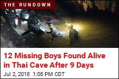 Boys Missing in Thai Cave Found Alive After 9 Days