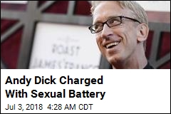 Andy Dick Charged With Sexual Battery