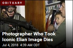 Photographer Behind Elian Image Dies at 71