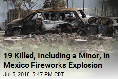 19 Killed, Dozens Injured in Mexico Fireworks Explosion