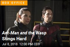 Ant-Man and the Wasp Stings Jurassic World
