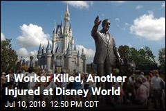 1 Worker Killed, Another Injured at Disney World