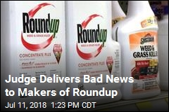 Judge Lets Roundup Lawsuits Move Ahead