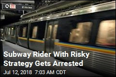 After Crazy Video, a 'Subway Surfer' Gets Busted