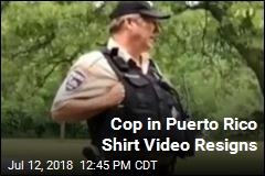 Police Officer Resigns After Puerto Rico Shirt Incident