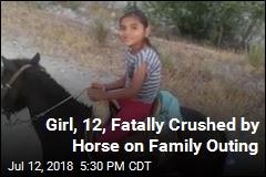 Girl, 12, Fatally Crushed by Horse on Family Outing