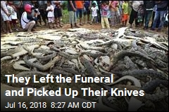 A Pile of Dead Crocodiles Was One Village's Revenge