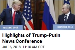 Putin: No, We Didn't Interfere in US Election
