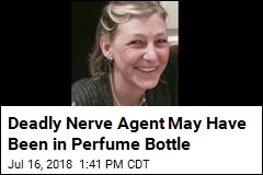 Deadly Nerve Agent May Have Been in Perfume Bottle
