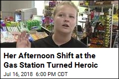 Her Afternoon Shift at the Gas Station Turned Heroic