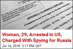US Arrests Woman Who Allegedly Spied for Russia